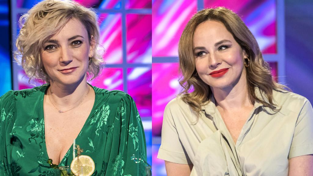 Ónodi Eszter és Borbély Alexandra remekül nézett ki a forgatáson (Fotó: VIASAT3 / Labancz Viktória)