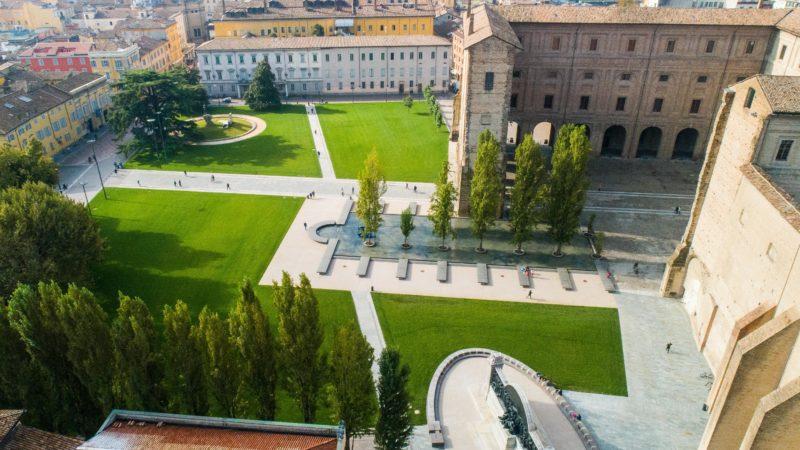 Palota komplexum Parma