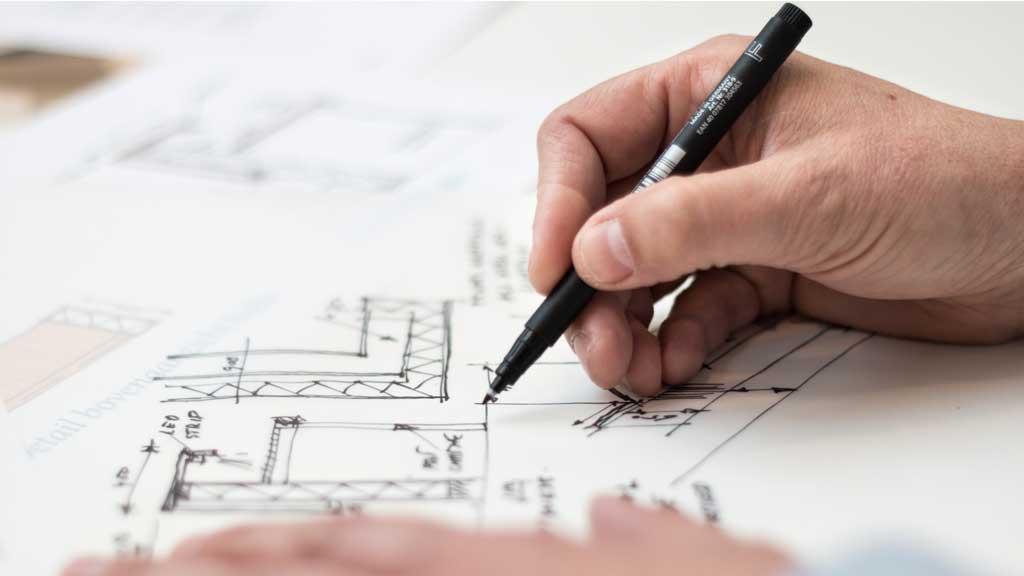 Előfordul, hogy az építész már korábban el tudja képzelni a kész otthonunkat, mint mi magunk. Fotó: Pexels-Lex