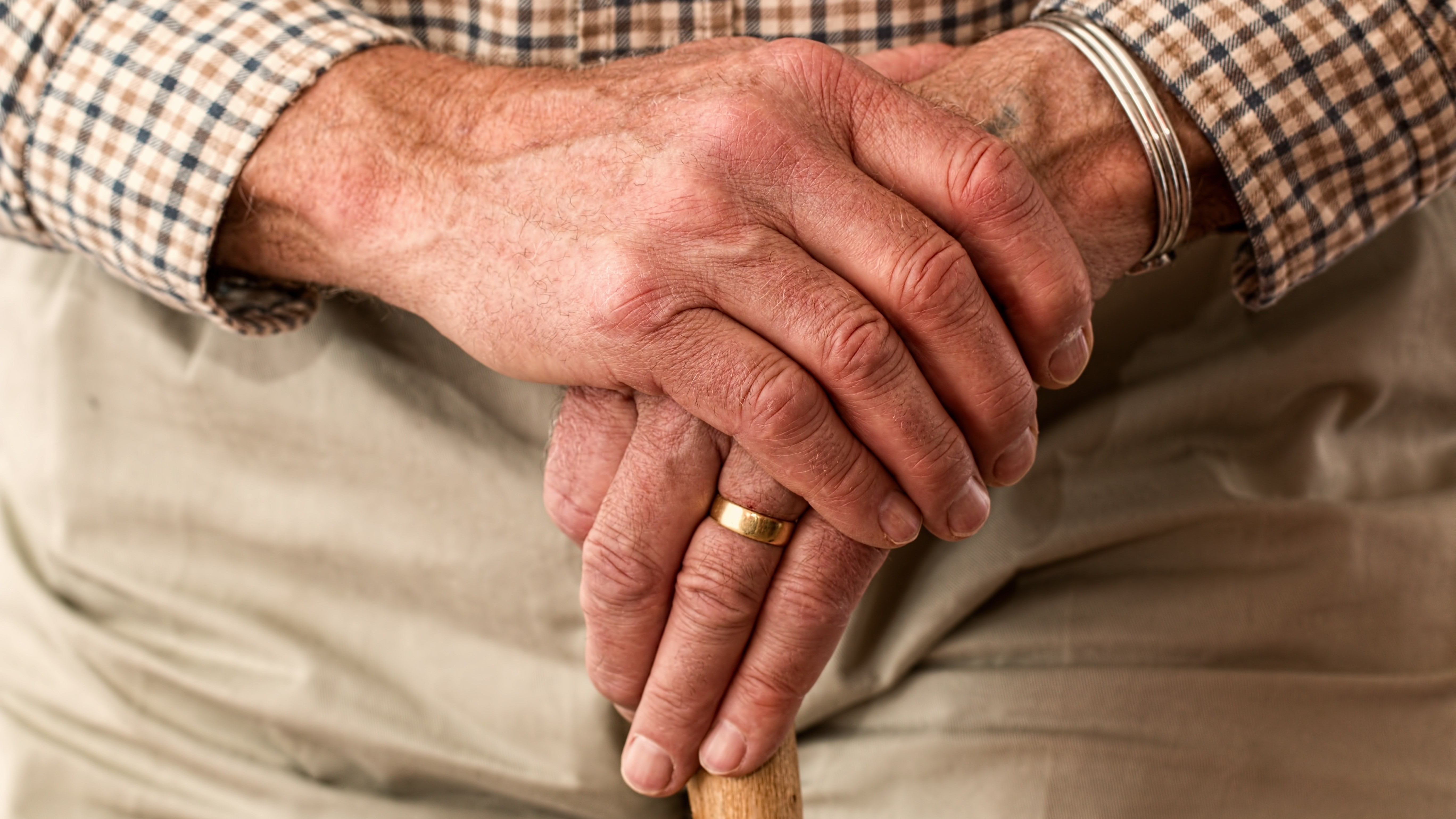 Nyugdíjas férfi