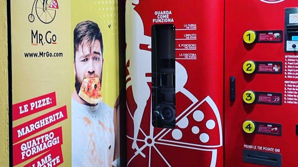 Pizzaautomata Rómában