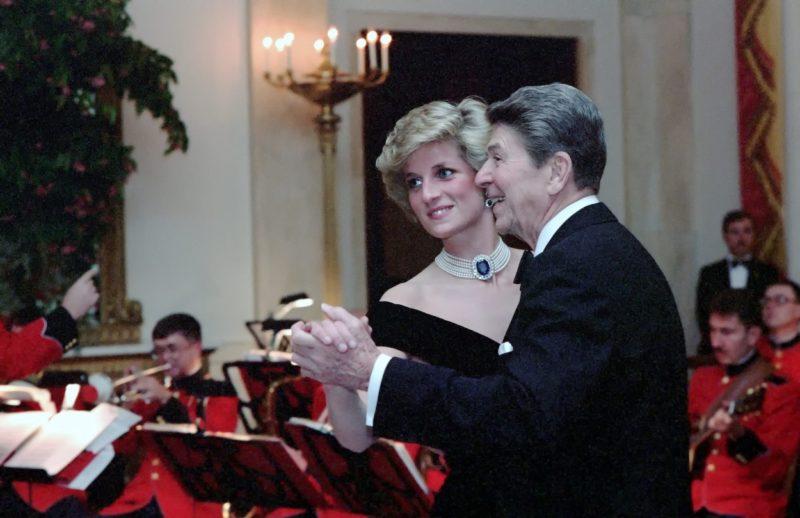 Diana hercegnő és Ronald Reagan