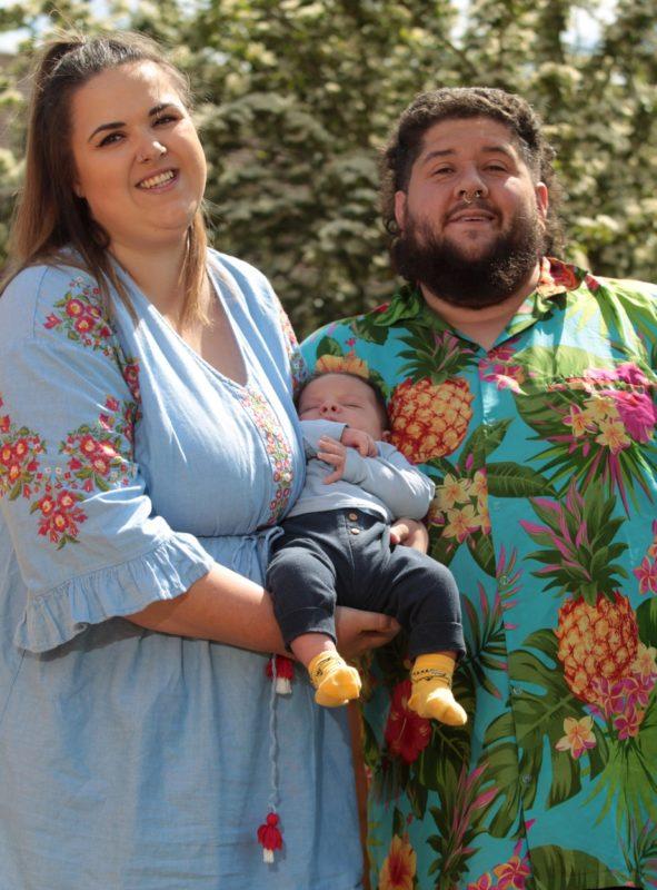 Zagrys Smit szüleivel
