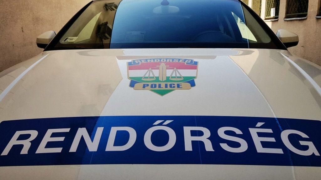 Rendőrautó