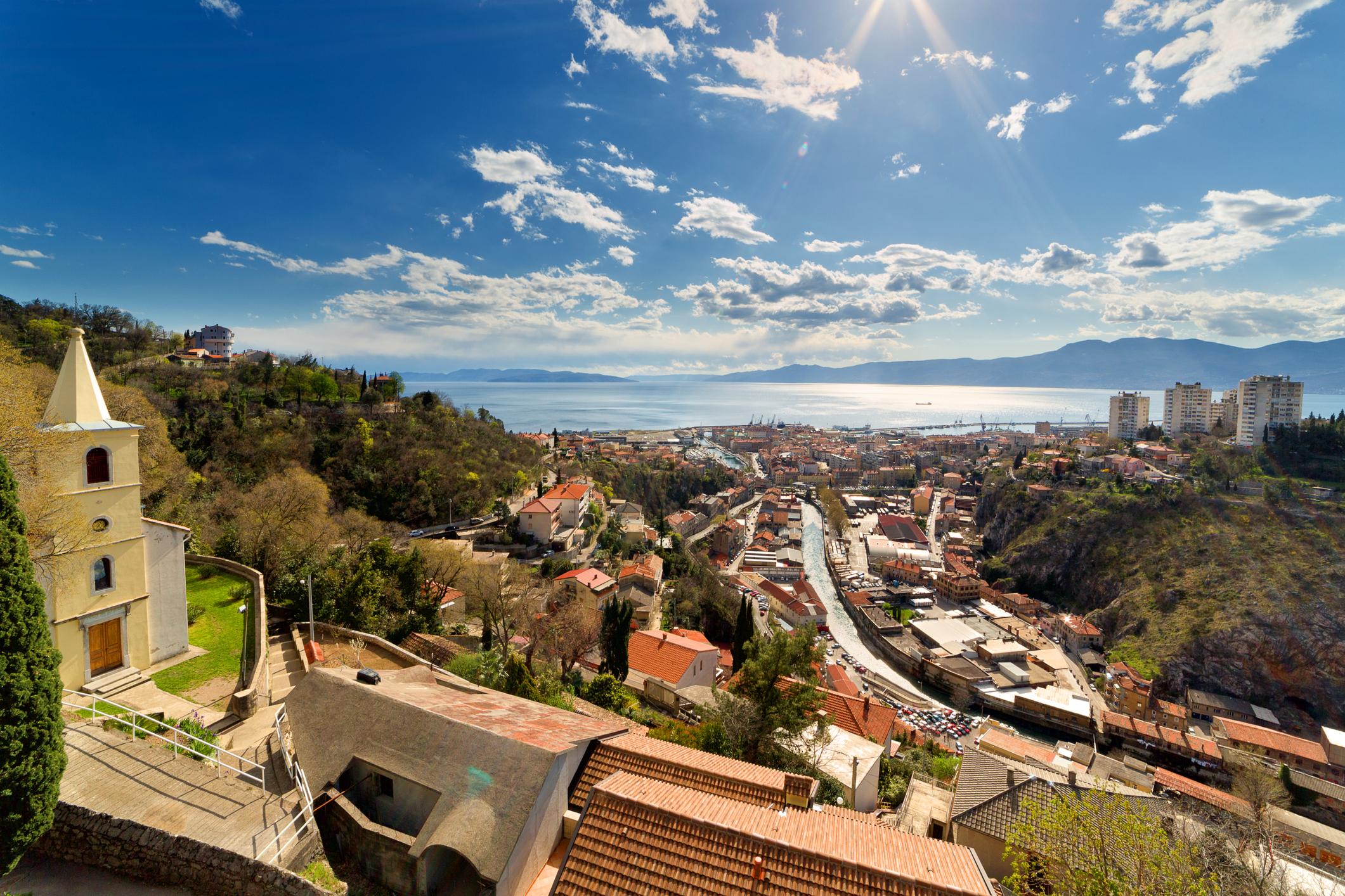 Irány a horvát tengerpart: Rijeka