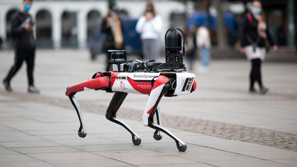 Nyugdíjba küldik a New York-i rendőrség robotkutyáját