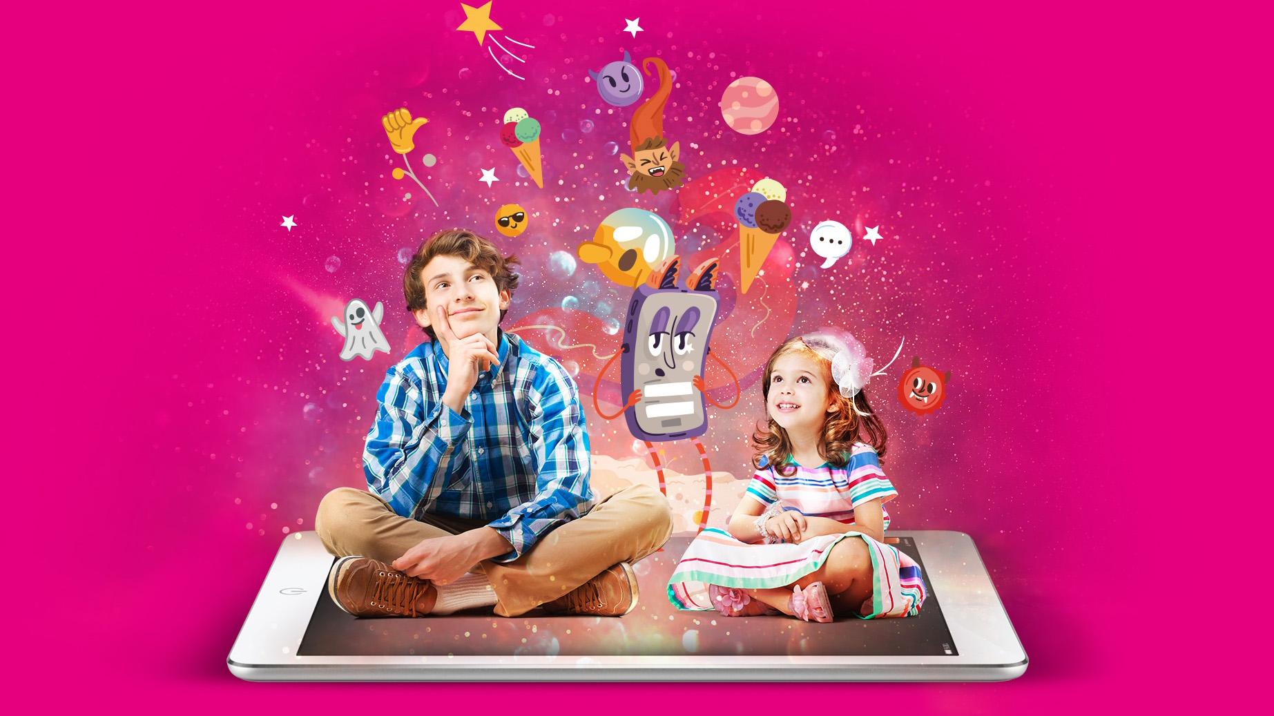Telekom Gyermeknap