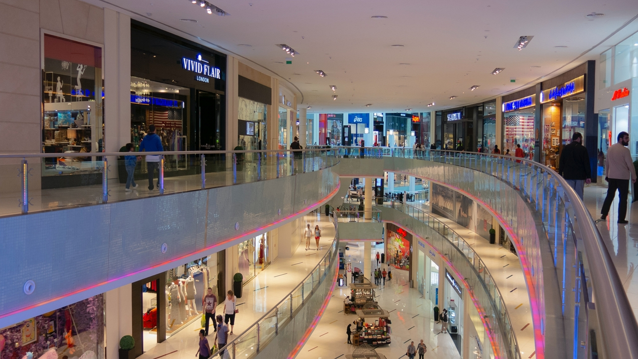 Plázák és bazárok Dubajban