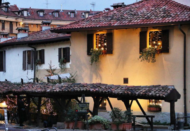 Milánó - Vicolo dei Lavandai