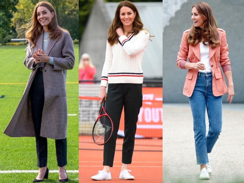 Katalin hercegné sportosan elegánsan
