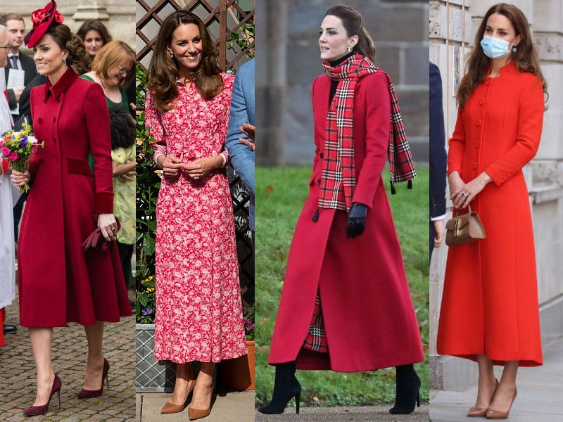 Katalin hercegné vörösben