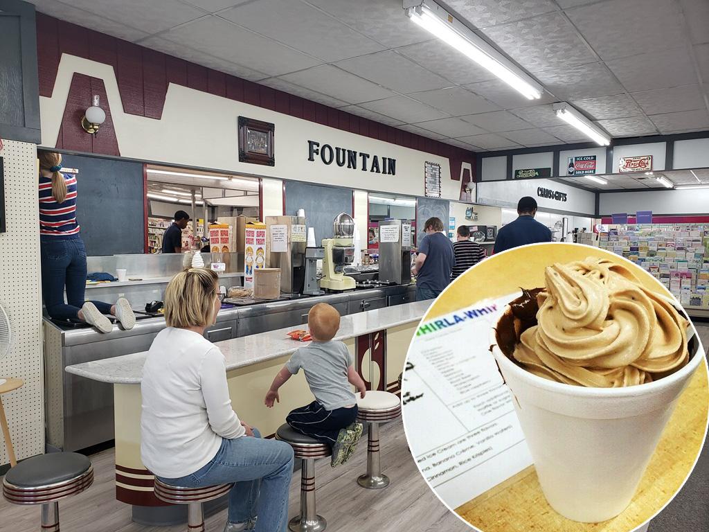 Muzeális fagyigépen keverhetik az ízeket