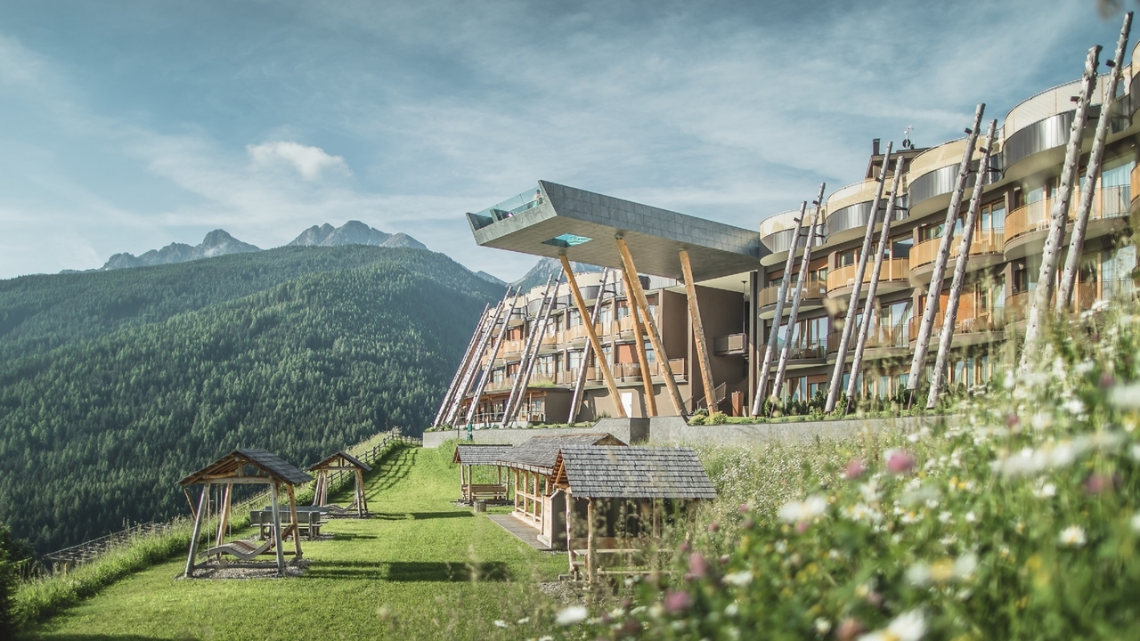Csodálatos hely a Dolomitoknál
