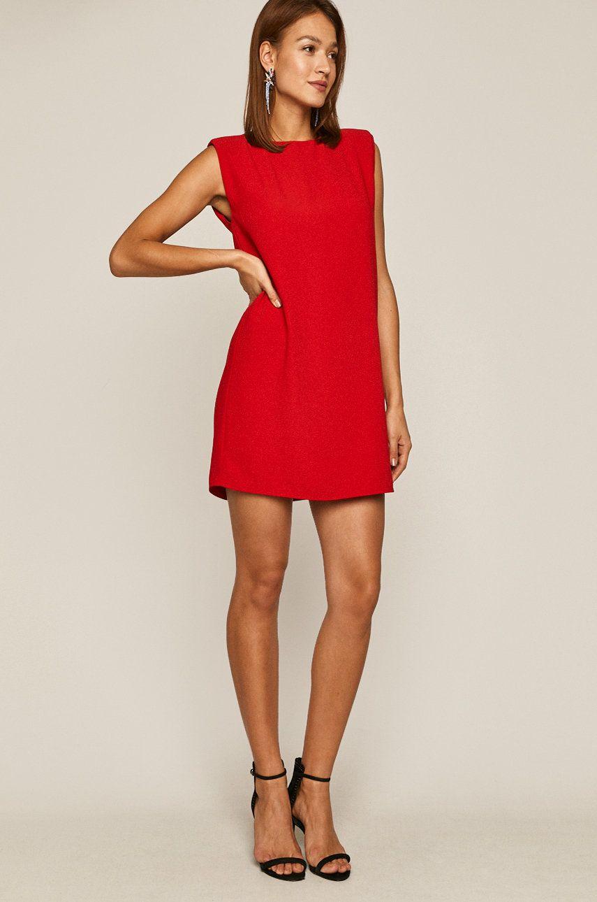 Answear piros nyári ruha