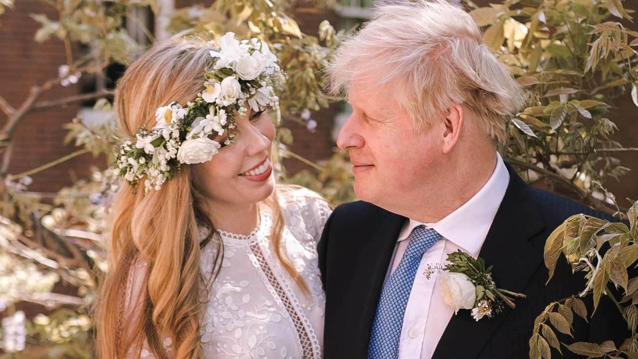Carrie Symonds boris johnson esküvő