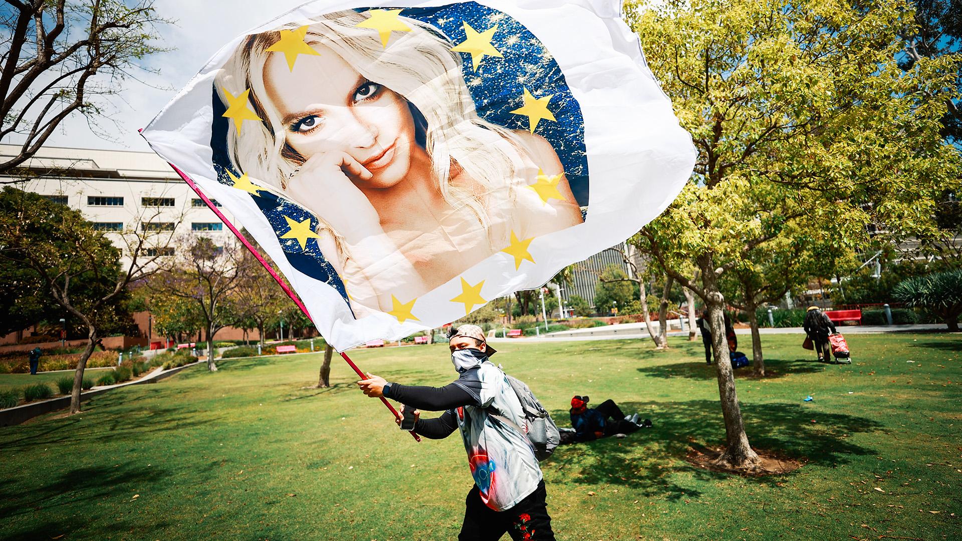 Tüntetés Britney Spearsért