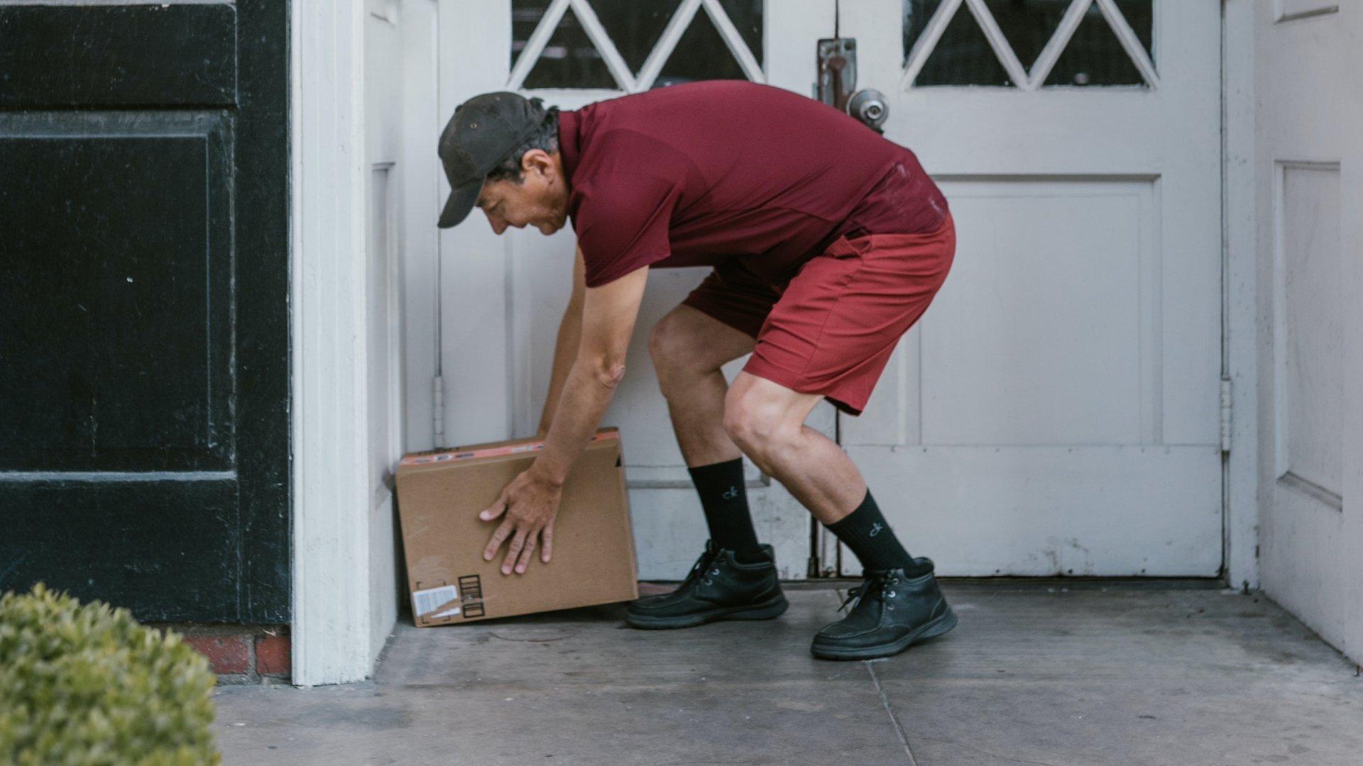 Csomag házhozszállítás