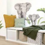 Elefántos falmatricák
