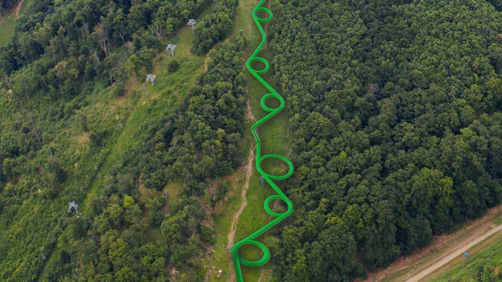 A világ leghosszabb vízicsúszdája épülhet meg Eplényben