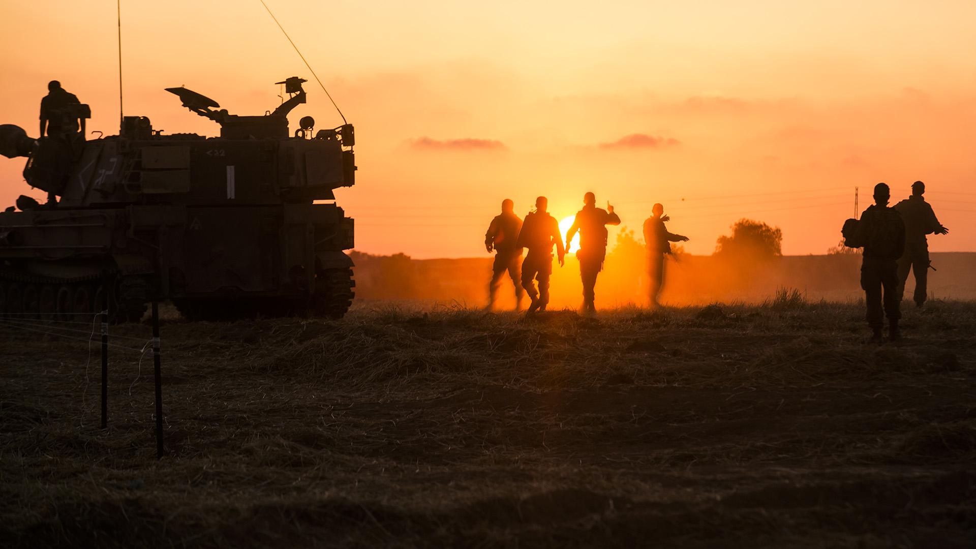 Konfliktus a Gázai övezet és Izrael között