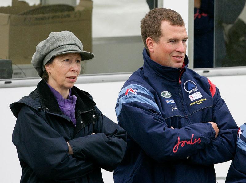 Peter Phillips és Anna hercegnő
