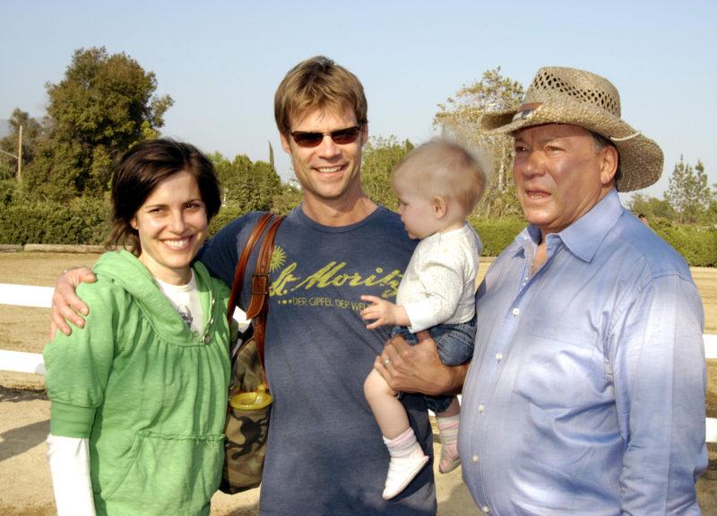William Shatner lánya családjával