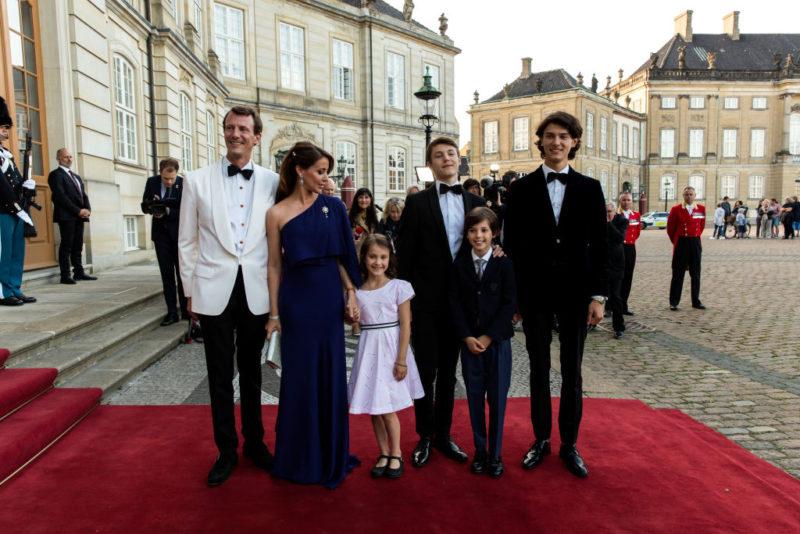 A család Joakim herceg 50. születésnapján