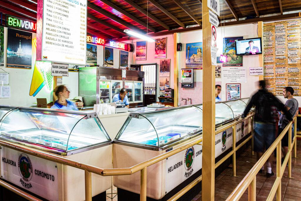 Coromoto: Ahol a világ legtöbbféle fagyiját árulják