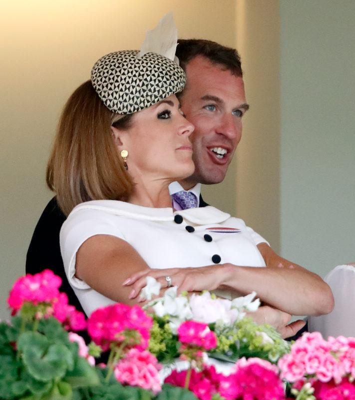 Natalie Pinkham és Peter Phillips