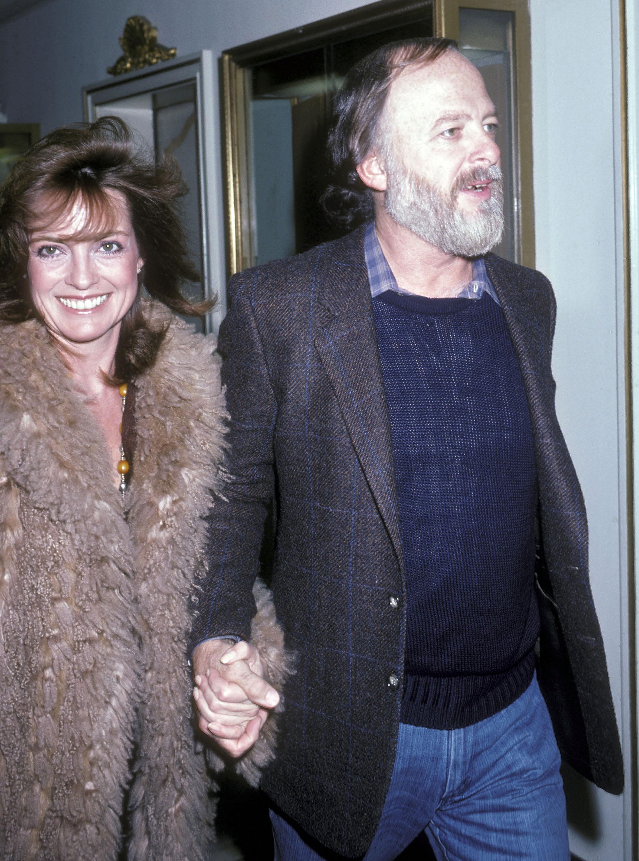 Linda Gray a férjével