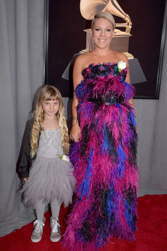 Pink kislánya Willow