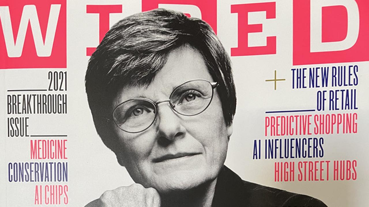 Karikó Katalin a Wired címlapján
