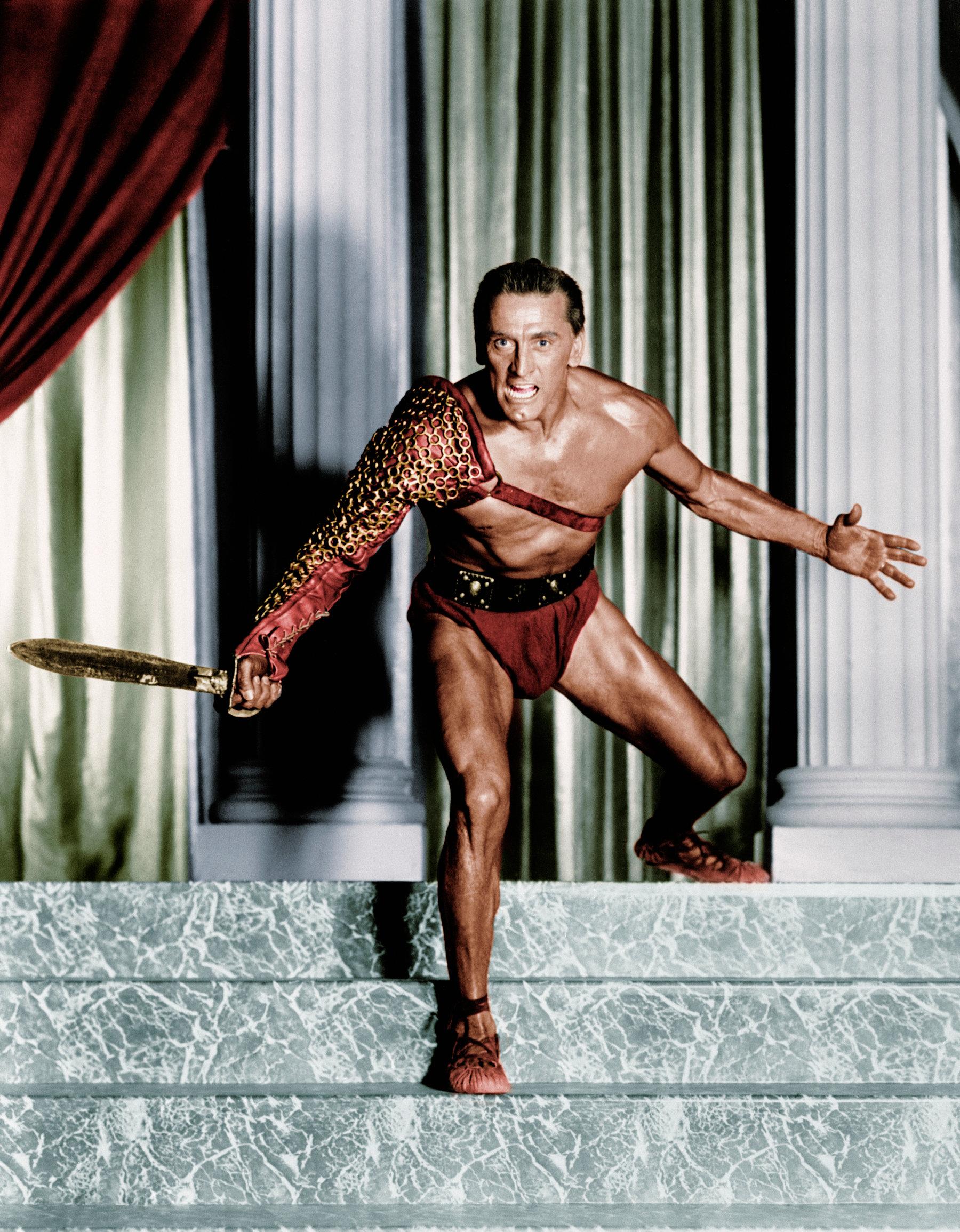 Kirk Douglas a Spartacusban