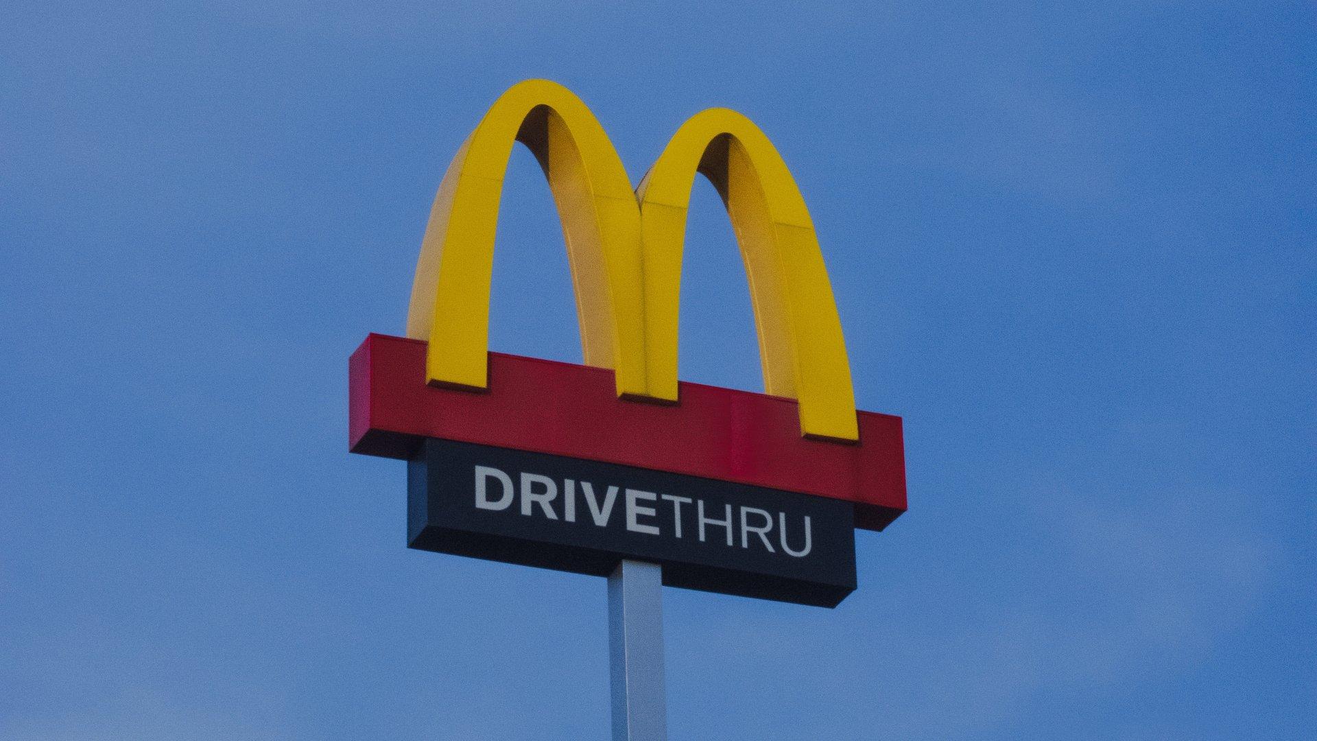 Autós McDonald's