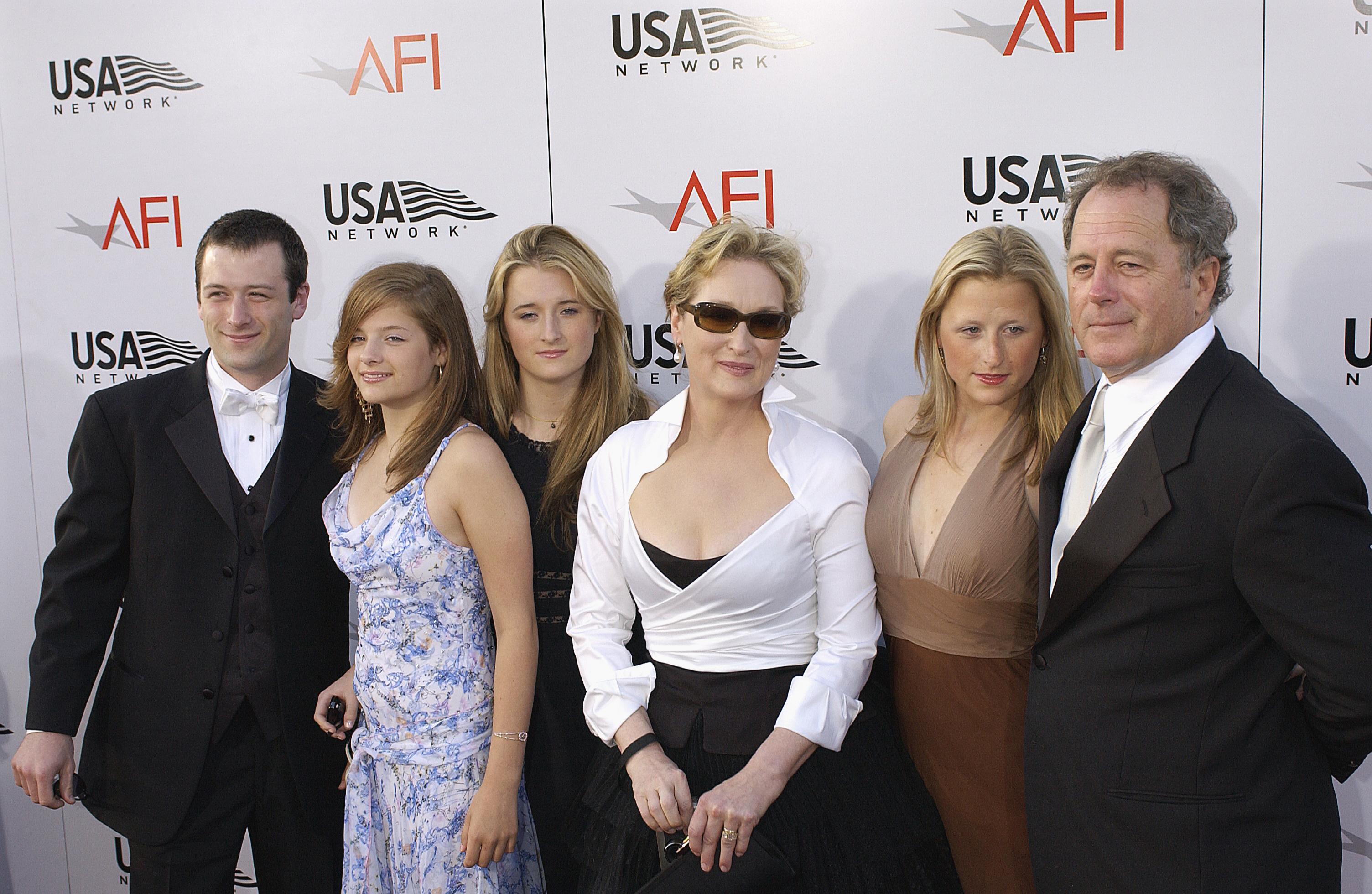 Meryl Streep és családja