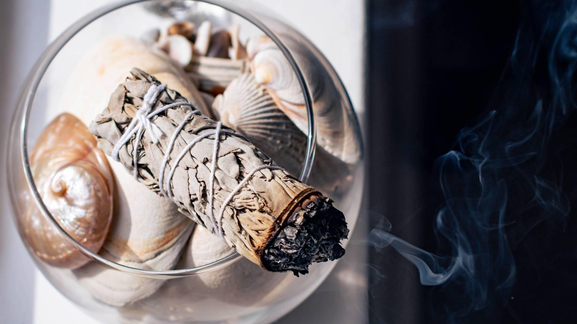 fehér zsálya füstölő