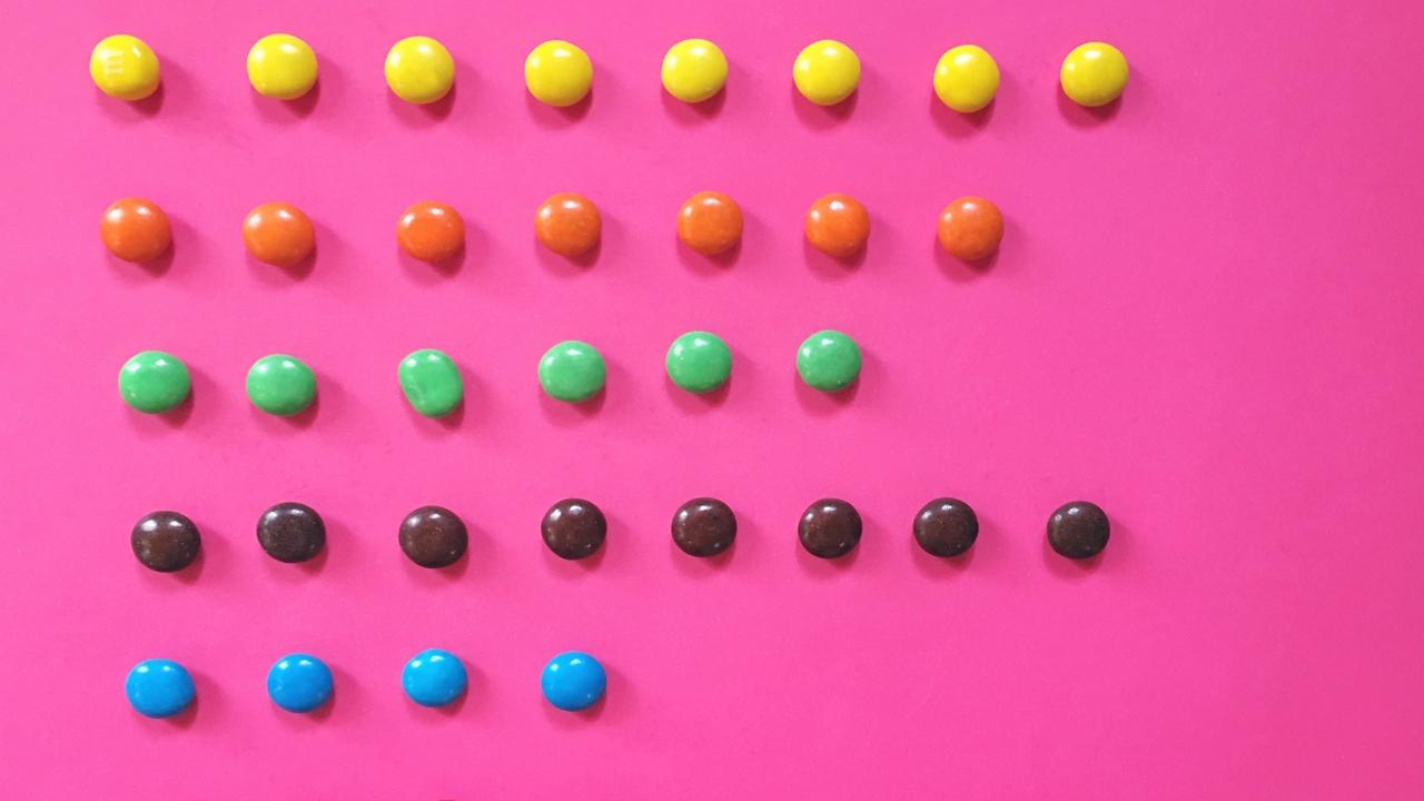 """5 db M&M csokigolyóból épített """"tornyot"""", ezzel Guinness-rekorder lett"""