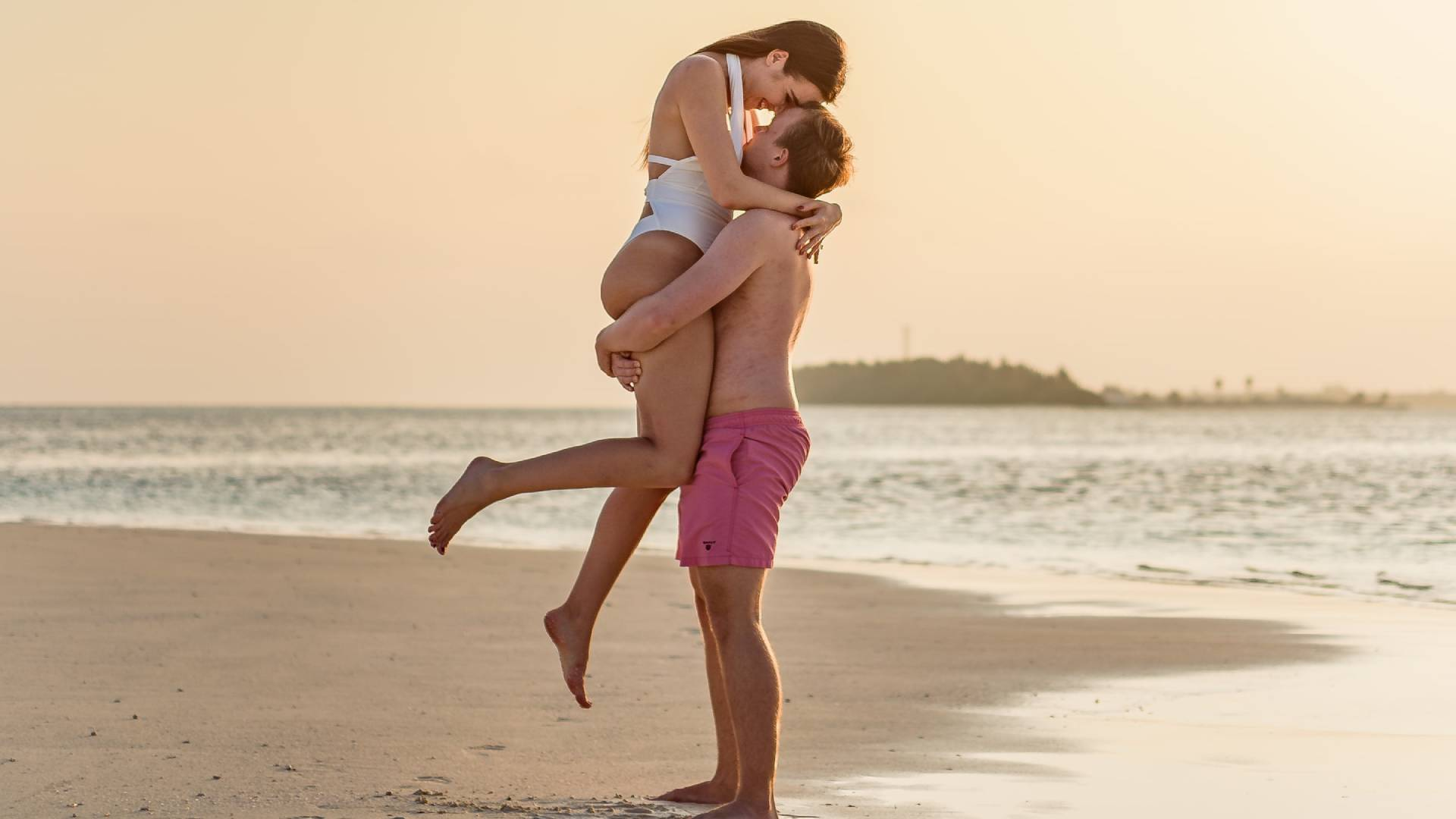 szerelmesek tengerparton