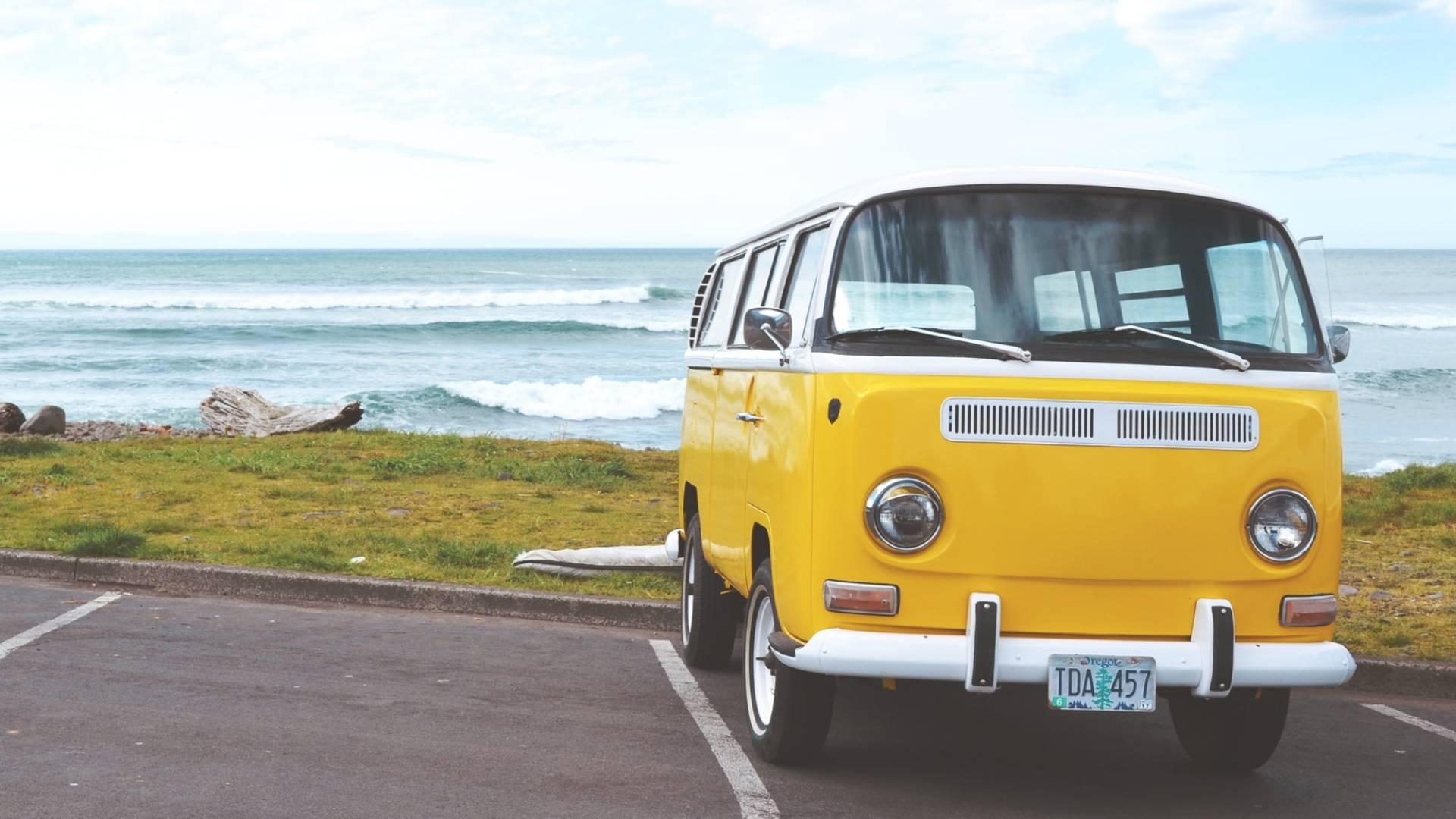 busz tengerparton