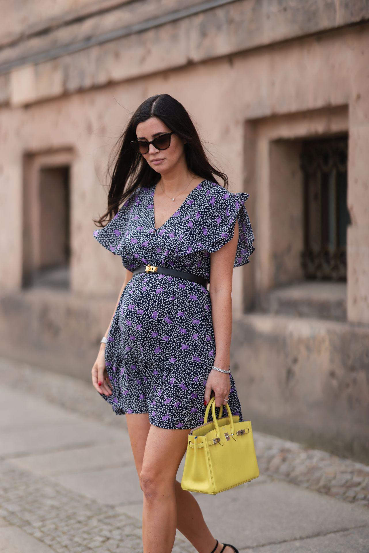 Virágos mini ruha - street style