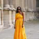 Aszimmetrikus nyári ruha - street style