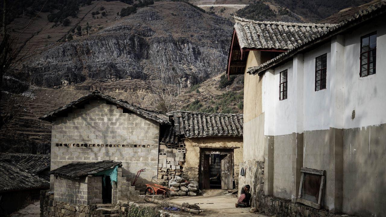 falu, elhagyott falu