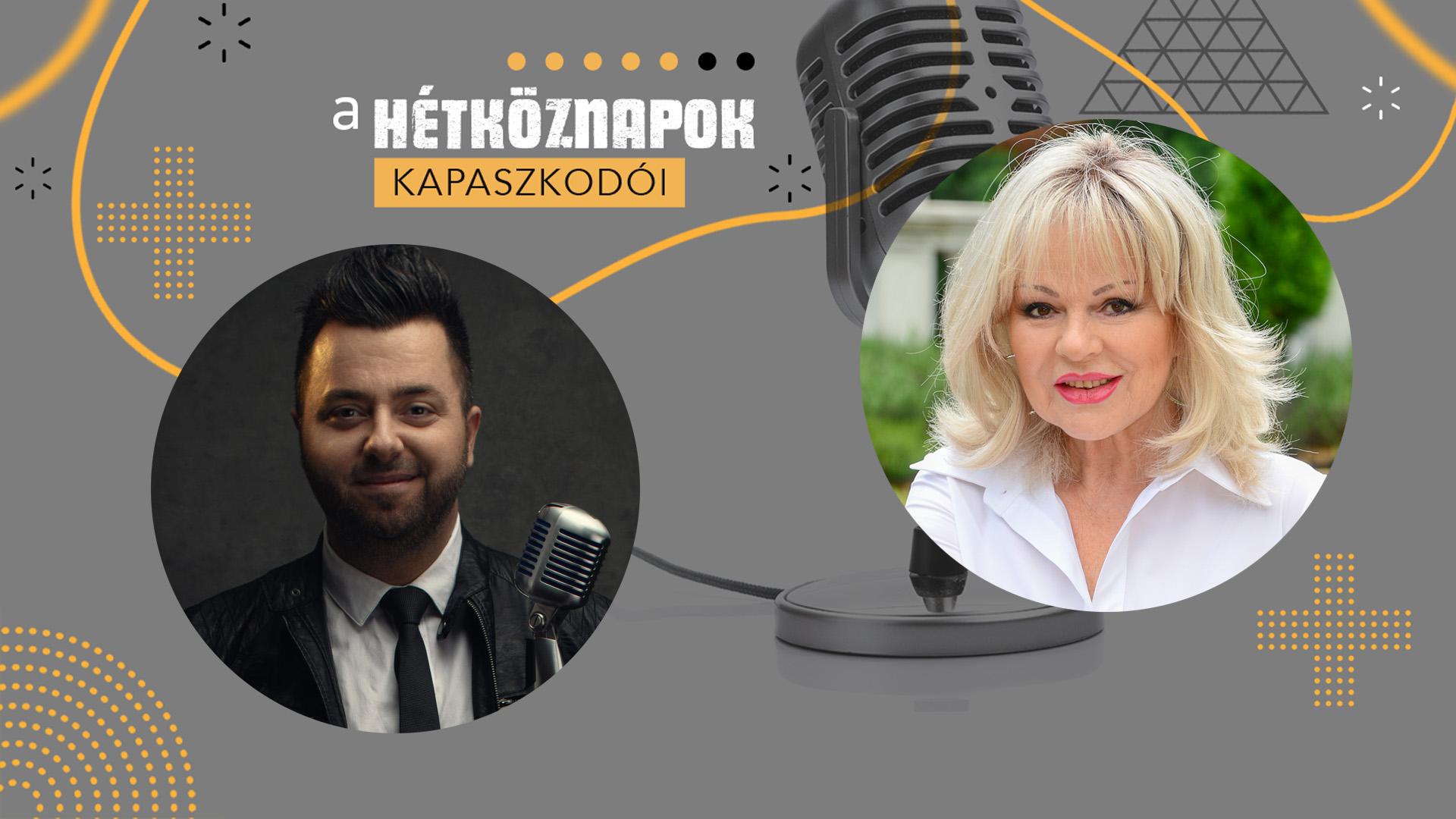 Balázs Klári kinyitotta a lelkét az őt faggató Sándor András kommunikációs szakembernek
