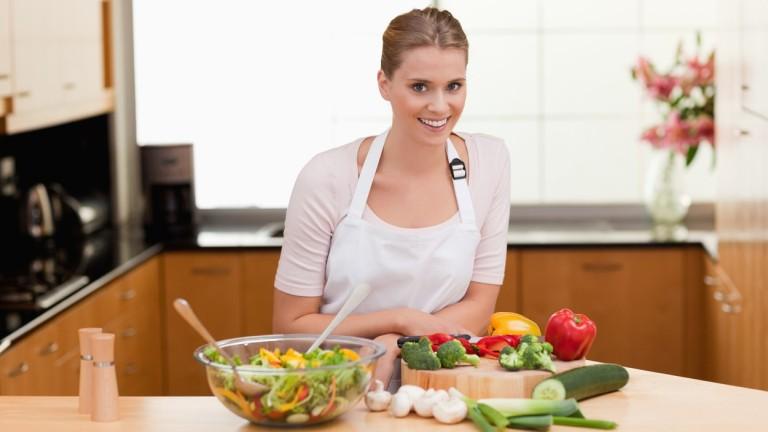 """Minél """"zöldebb"""" a konyhád, annál jobb neked is, a Földnek is! (fotó: profimedia.hu)"""
