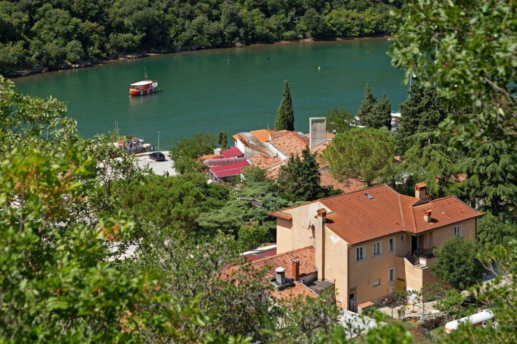 A Lim-csatorna Horvátországban