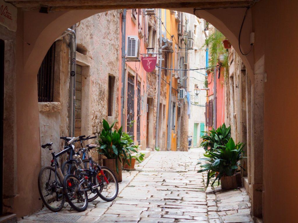 Rovinj belvárosa