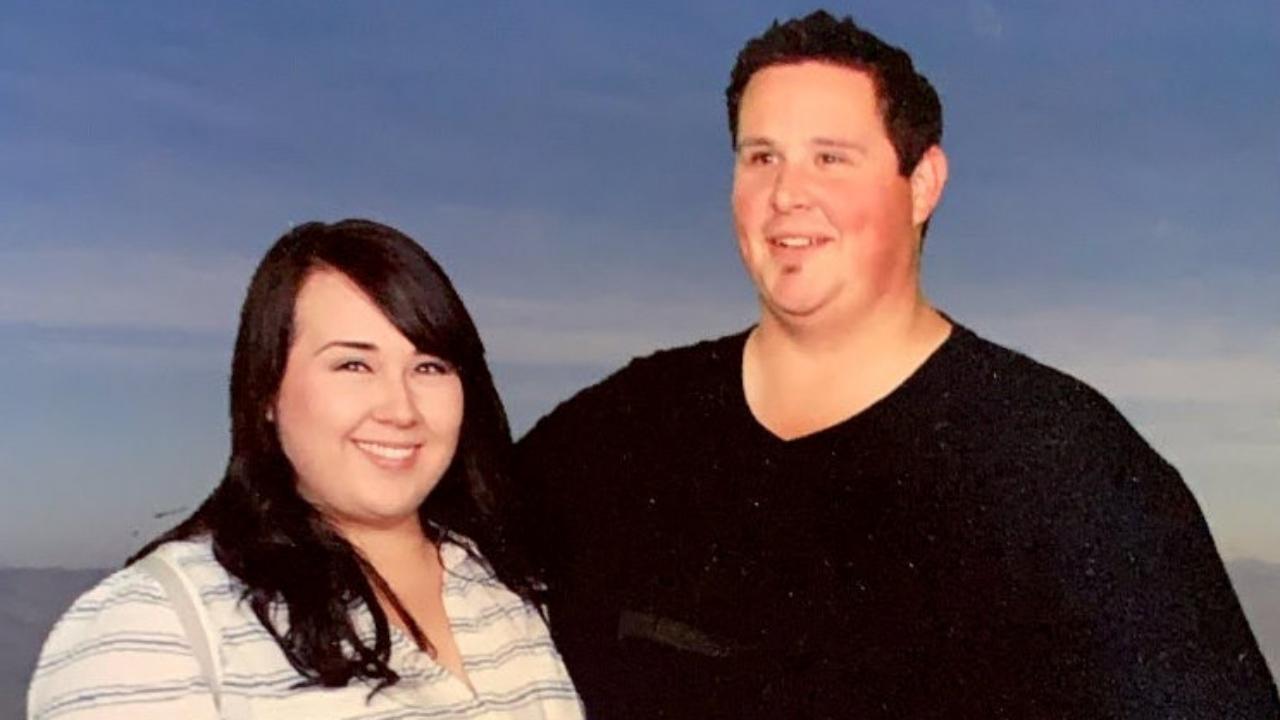 Raquel és Dustin Hall