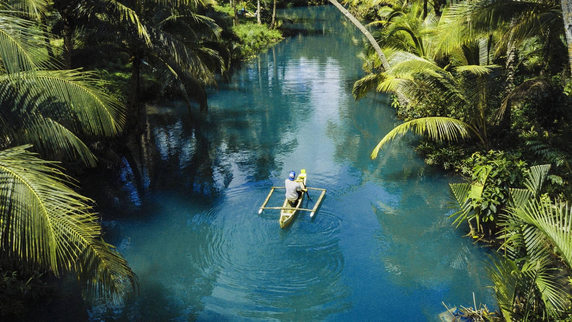 hajókázás a dzsungelben