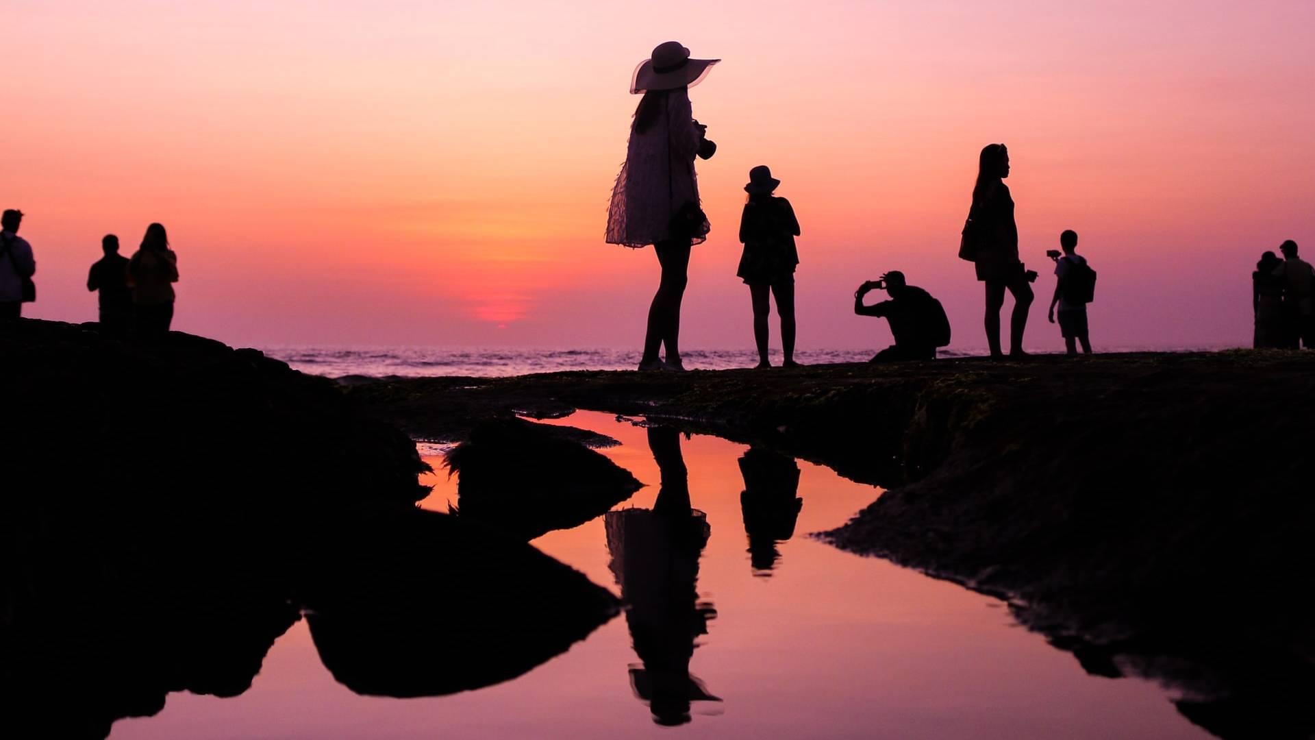 árnyak a tengerparton