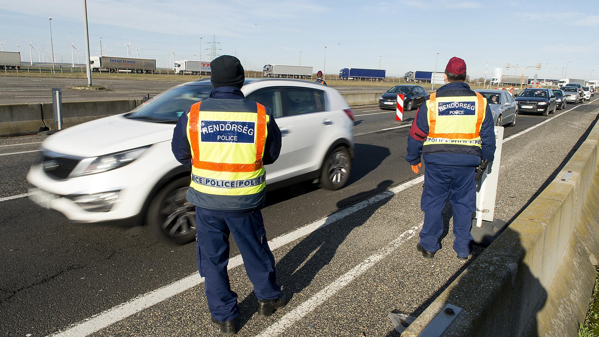Schengeni határátkelő